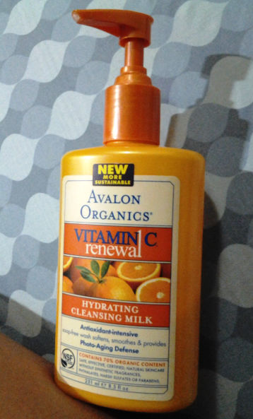 Avalon Organics Vitamin C Renewal Hydrating Cleansing Milk