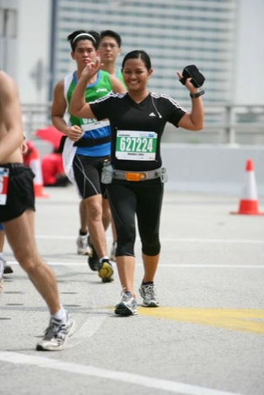 My favorite shot during the race - an SCMS official photo