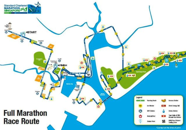 SCMS 2011 - From Orchard - East Coast Park - Raffles Blvd - Padang